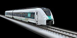 Siemens Mireo ve vizualizaci jako jednotka s vodíkovým pohonem. Foto: Siemens
