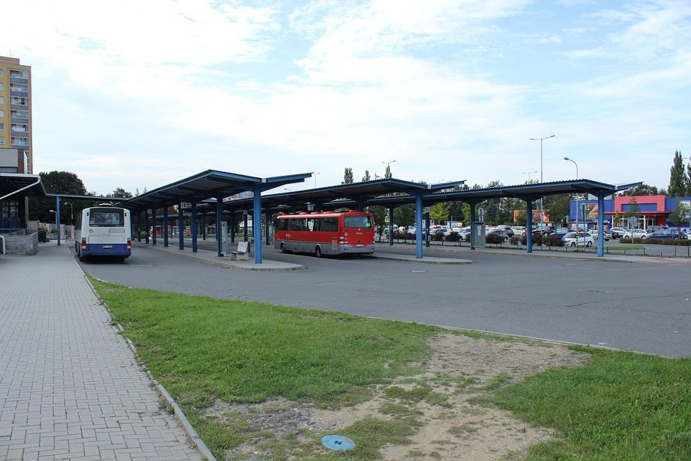 Autobusové nádraží Kopřivnice. By Jan Polák - Own work, CC BY-SA 3.0, https://commons.wikimedia.org/w/index.php?curid=72800092