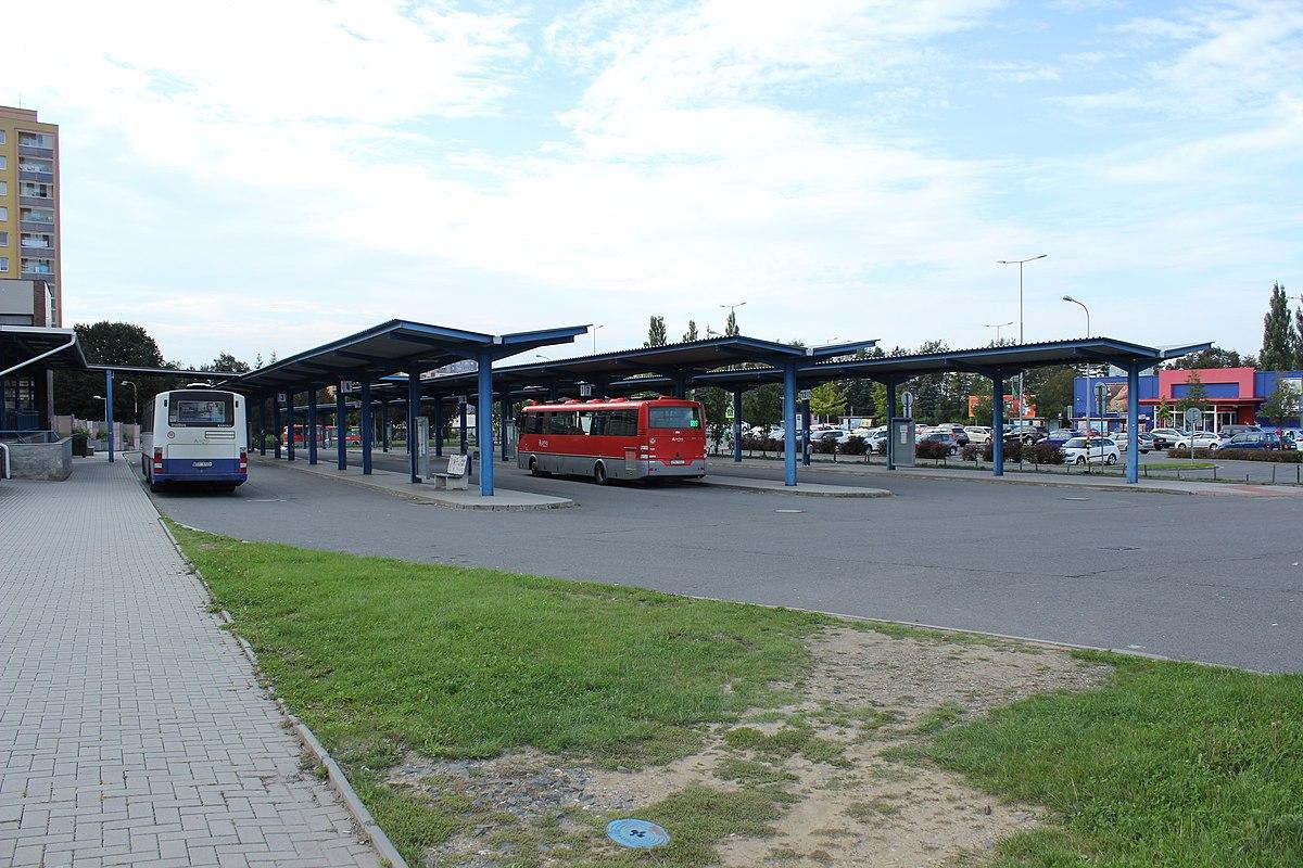 Autobusové nádraží Kopřivnice. By Jan Polák - Own work, CC BY-SA 3.0, https://commons.wikimedia.org/w/index.php?curid=72800092