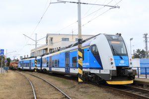 RegioPanter v Táboře na začátku tratě do Bechyně. Autor: České dráhy/Jan Chaloupka