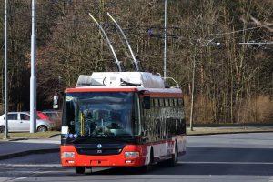 Nový trolejbus Škoda 30 Tr (s karosérií SOR) pro Prešov. Pramen: Škoda Electric