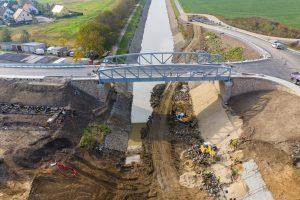 Nový most v Lužci. Pramen: ŘVC