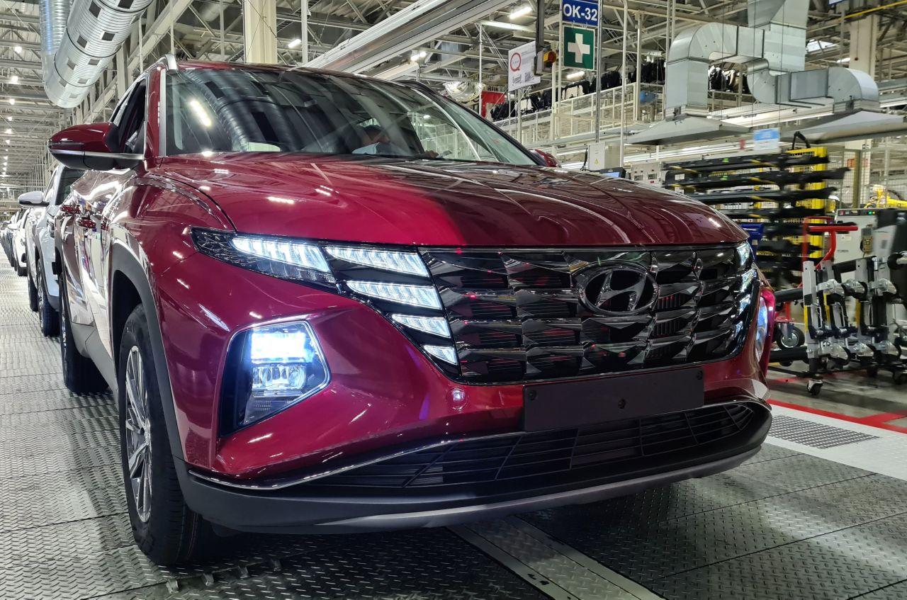 Nová generace modelu Hyundai Tucson. Foto: HMMC