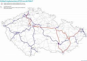 Nový plán zavádění ETCS na českou železnici. Foto: MDČR