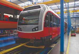 Vozidla pro tatranské tratě vyrábí Stadler v závodě v Bussnangu. Pramen: ZSSK