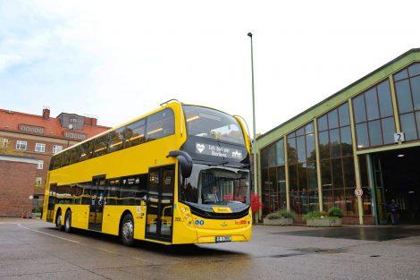Nový autobus Enviro 500 pro Berlín. Foto: Alexander Dennis