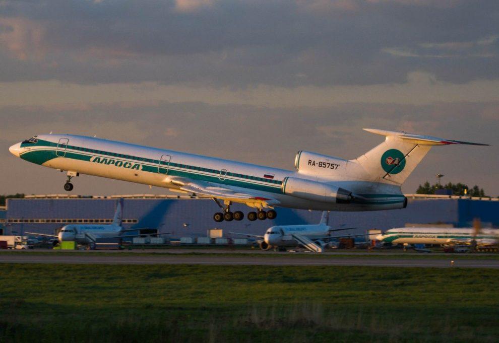 Tu-154M společnosti Alrosa. Foto: Alrosa