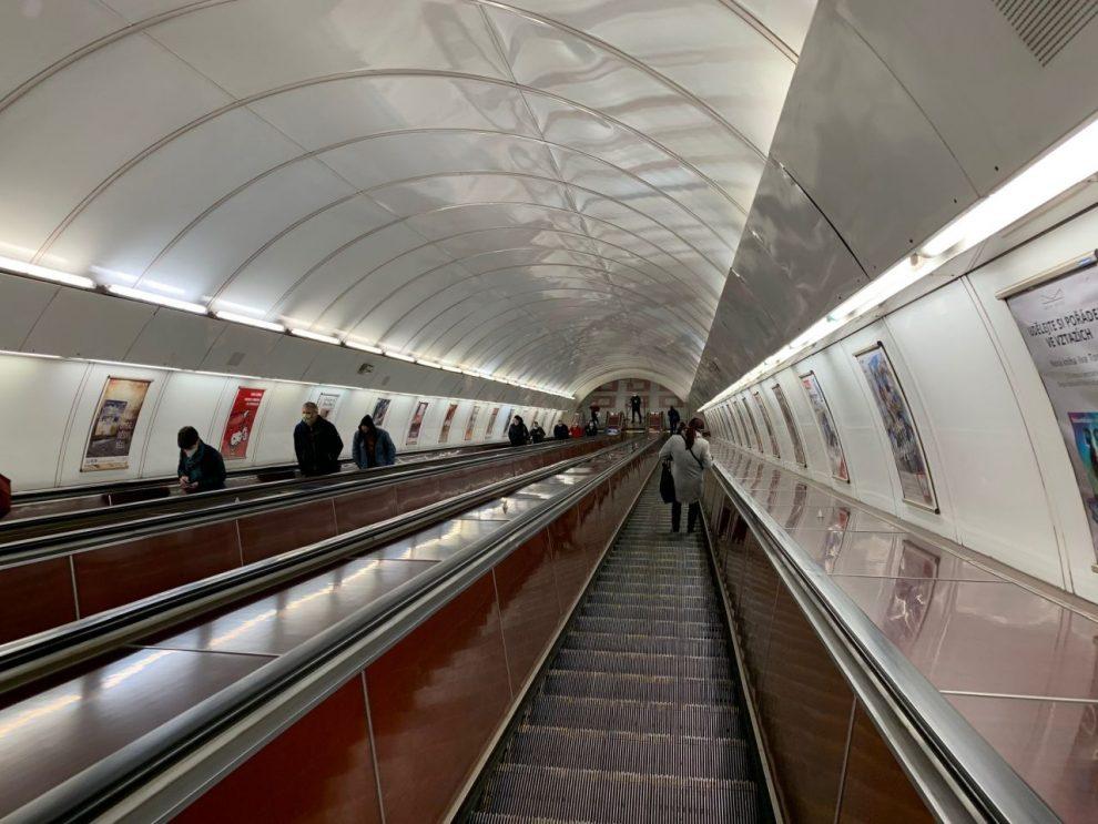 Eskalátory na Andělu. Foto: Aneta Řehková / DPP