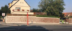 Autobusová zastávka Spořilov