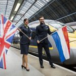 Vlak EuroStar v Londýně na St. Pancar International. Foto: Dutch Embassy in UK
