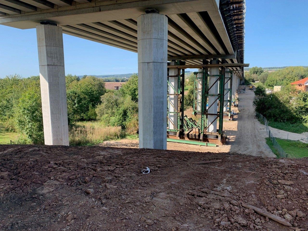 Nový most na silnici I/35 v Hořicích. Foto: ŘSD