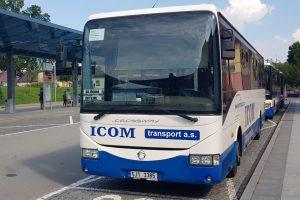 Autobus ČSAD Ústí nad Orlicí v České Třebové. Foto: Jan Sůra / Zdopravy.cz