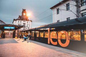 Vlak Leo Expressu. Pramen: Leo Express