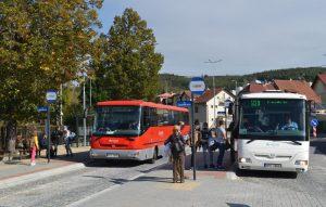 Nový dopravní terminál v Luhačovicích. Foto: FB Luhačovice