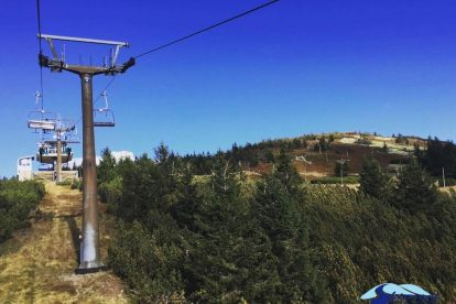Lanová dráha na Lysou horu v Rokytnici nad Jizerou. Foto: Skiareál Rokytnice