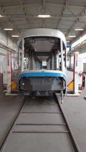 Modernizace tramvají Škoda 16T pro polskou Vratislav. Foto: MPK