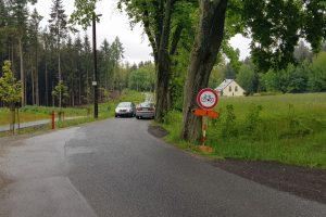 Silnice z Milířů do Rádla (tento úsek bude obousměrný i přes zimu). Foto: Jan Sůra / Zdopravy.cz