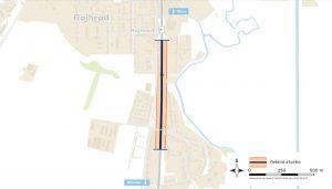Mapa s úpravami zastávky Rajhrad. Foto: Správa železnic