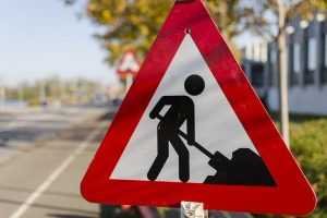 Oprava silnice. Ilustrační foto: ŘSD