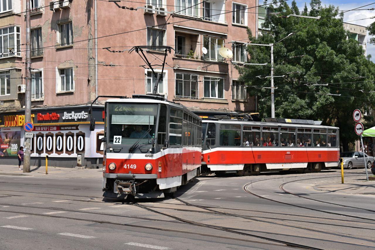 Tramvaj T6A5 v Sofii. Foto: Michal Chrást