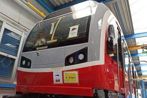 Nové elektrické jednotky Stadler GTW pro ZSSK pro provoz v Tatrách. Foto: ZSSK
