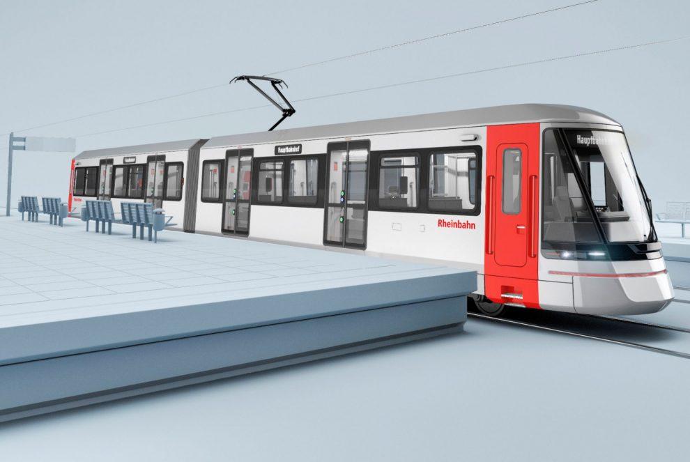 Tramvaj Avenio HF od Siemensu, vizualizace. Copyright: design büro+staubach berlin