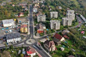 Opravená část silnice II/610 v Turnově. Foto: Turnov