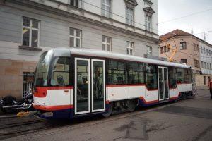 Nová tramvaj Vario LFR v Olomouci. Foto: Jan Dušek