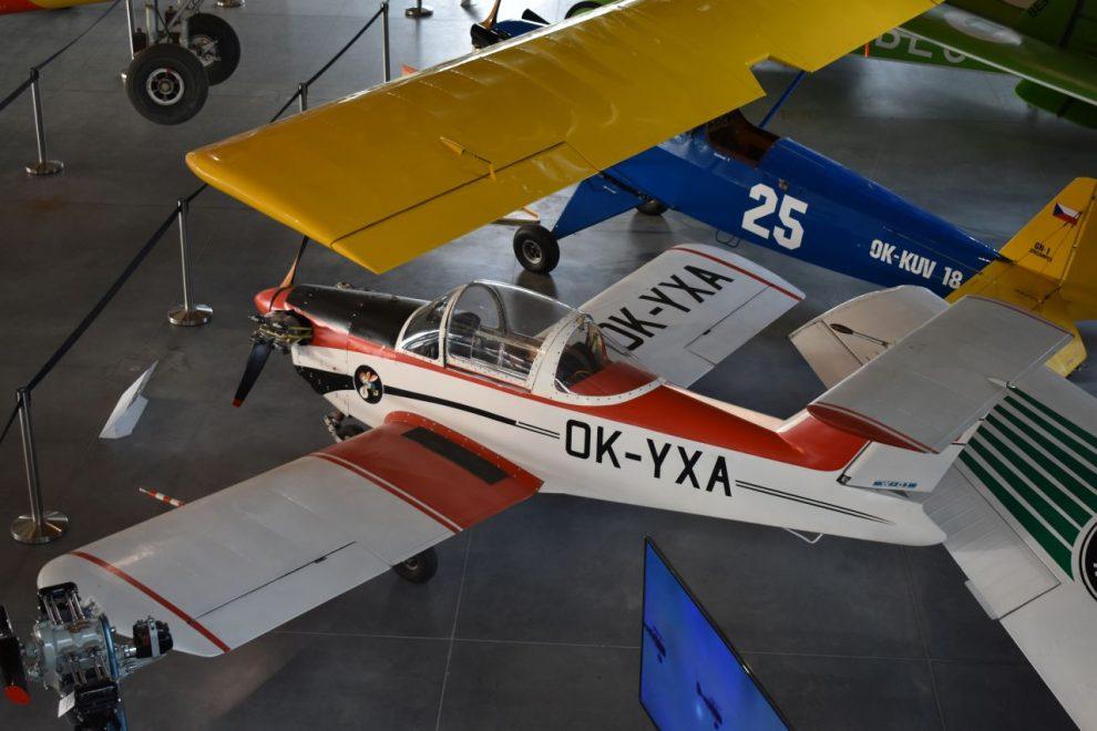 Letecké muzeum Metoděje Vlacha. Foto: Vlastimil Kučera