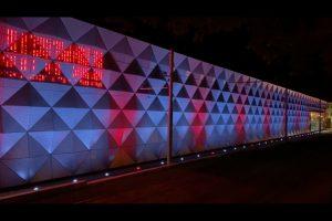 Vizualizace osvětlení haly v Pisárkách pro Dny Brna. Foto: DPMB