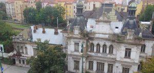 Stav nádraží Vyšehrad v říjnu 2020. Foto: www.zachraninenadrazivysehrad.cz