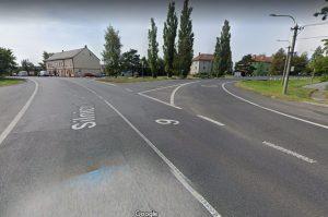 Křižovatka v Zahrádkách. Foto: Google Street View