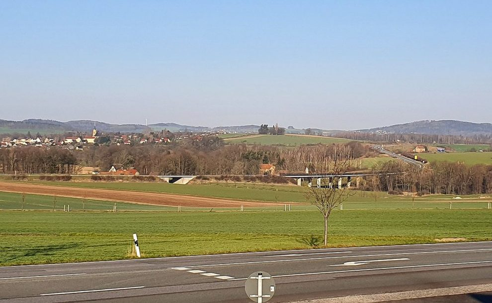 Silnice B178 u Löbau. Foto: Hakan Kierez / Wikimedia Commons