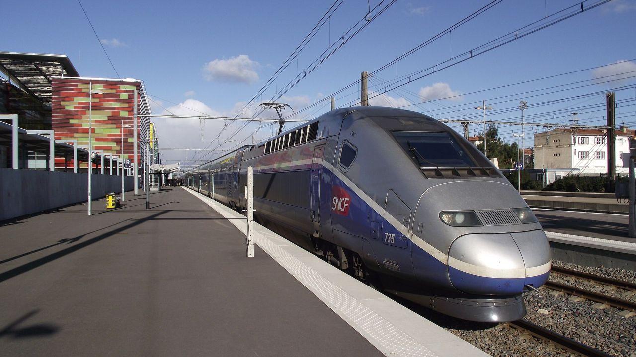 TGV v Perpignanu. Foto: Smiley.toerist, CC BY-SA 3.0 , via Wikimedia Commons