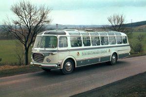 Autokar Škoda 706 RTO LUX pro výstavu Expo 58. Pramen: Iveco Bus