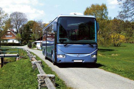 Meziměstský autobus Crossway se vyrábí od roku 2006. Pramen: Iveco Bus