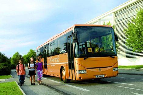 Školní autobus Récréo, verze z roku 2006. Pramen: Iveco Bus