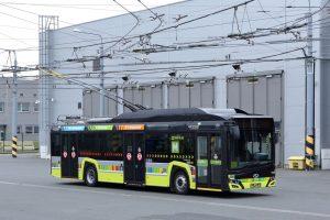Nový trolejbus pro St. Ettiene. Pramen: Škoda Electric