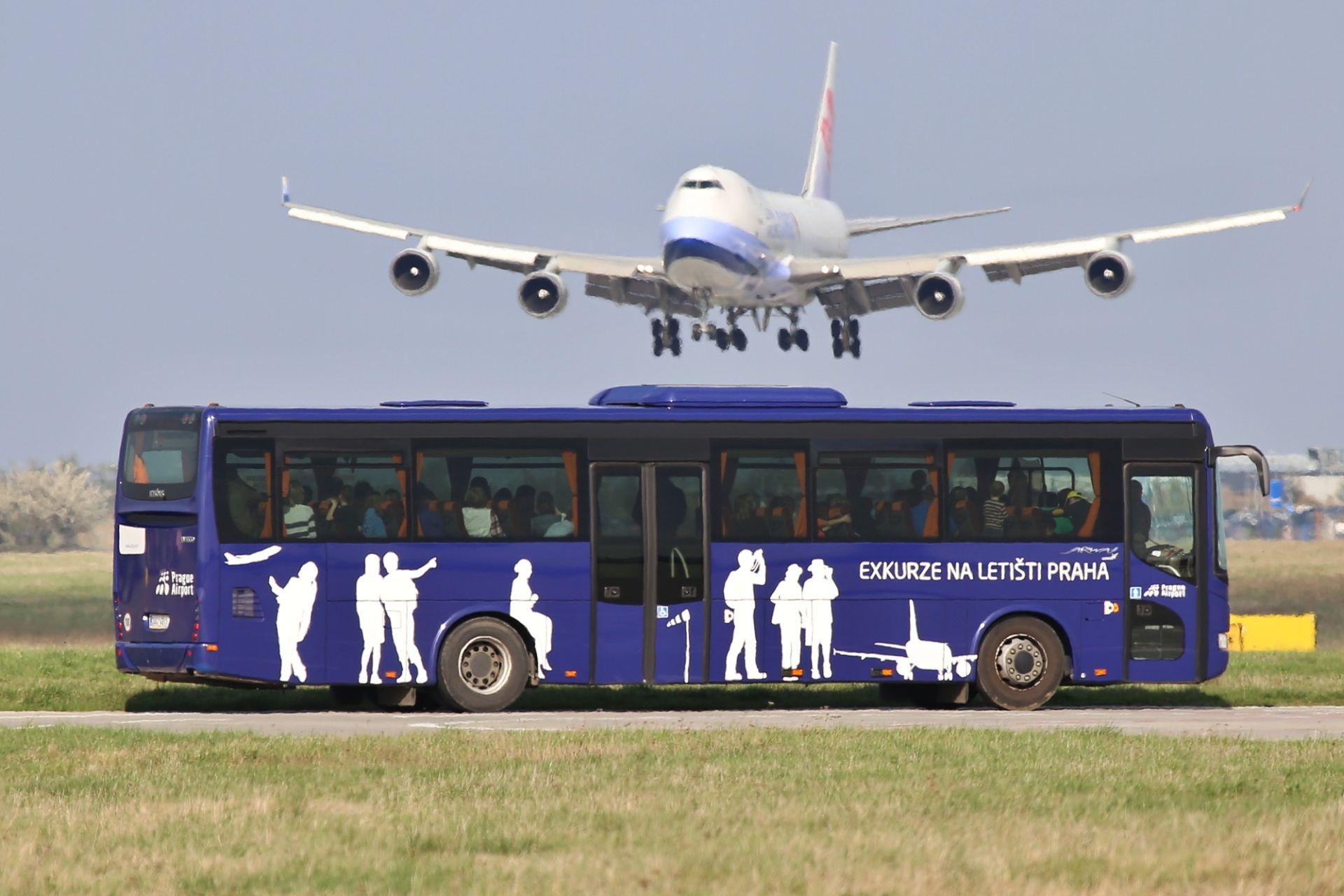 Exkurze na Letišti Praha. Foto: Letiště Praha