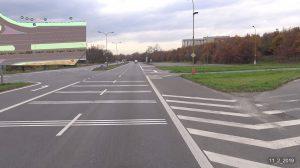 Křižovatka na silnici I/11 u Havířova. Foto: ŘSD