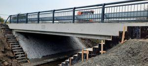 Nový most na silnici I/38 v Újezdu u Luštěnic. Pramen: ŘSD