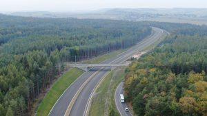 Nový úsek dálnice D6 Nové Strašecí - Řevničov. Pramen: ŘSD