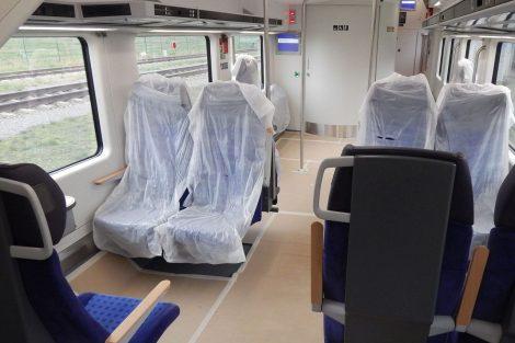 Oddíl pro invalidy je ve vlaku jeden. Autor: Zdopravy.cz/Jan Šindelář