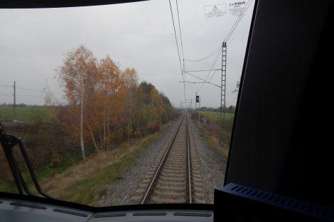 Pohled z řídícího vozu. Autor: Zdopravy.cz/Jan Šindelář