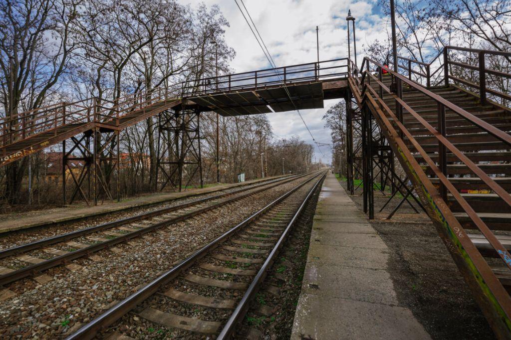 Zastávka Strašnice v neděli 13. prosince 2020 osiřela. Pramen: IPR Praha/Jan Malý