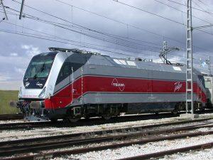 Lokomotiva Travca od výrobce Talgo. Pramen: Talgo