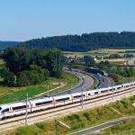 Vysokorychlostní trať. Pramen: Správa železnic