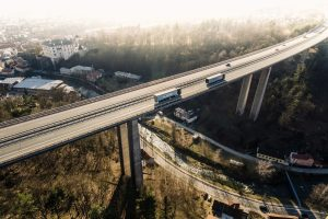 Most Vysočina na D1. Pramen: Metrostav