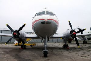 Letadlo Avia Av-14 po renovaci. Foto: Vojenský historický ústav