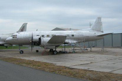 Avia Av-14 před renovací. Foto: Vojenský historický ústav